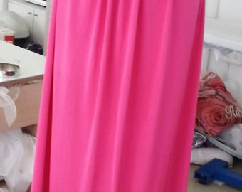 pink fuchsia evening dress