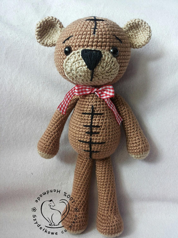 Amigurumi Pattern Teddy Bear : Amigurumi Cute Teddy Bear pdf pattern