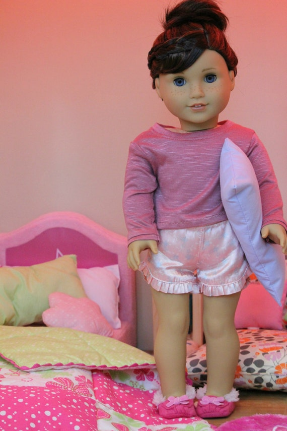 Magenta Pullover Sweater for American Girl or 18 inch dolls