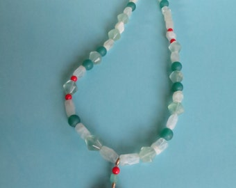 Summer Green Meadow  Necklace