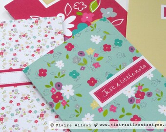Pretty Floral Assorted Notecards - pack of 8