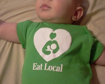 Eat Local Onesies and Toddler Ts