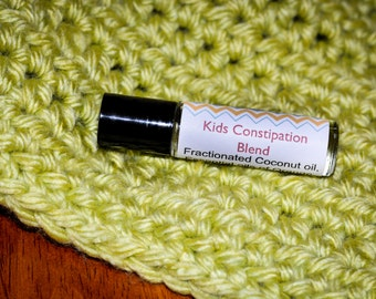 Kids Constipation Blend Remedy-all natural with essential oils