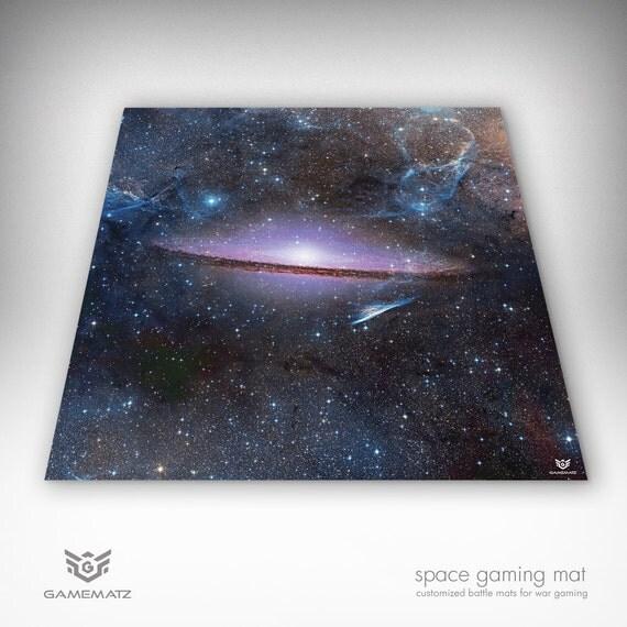 Star Trek Attack Wing Gaming Battle Mat Deep Space Vinyl Game