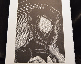 Black and White Spider-Man Prints