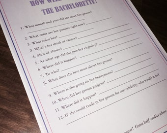 Bachelorette Quiz - How Well Do You Know The Bachelorette? 12 questions