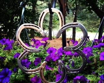 Six Horse Shoe Wreath