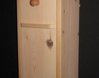 Narrowboat captain's locker