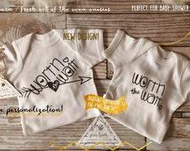 WORTH THE WAIT Onesie® baby clothes baby bodysuit one piece creeper / Newborn Onesie® / Baby Shower Gift / Custom Onesie®