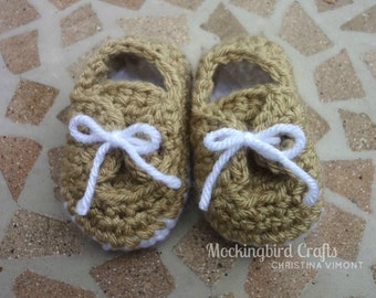 Camel Baby Loafers