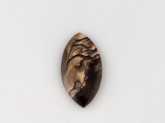 Deschutes Jasper - rare natural gemstone, handmade cabochon