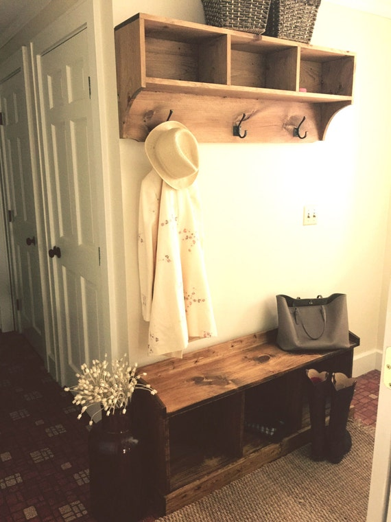 how to make entrance cubbies