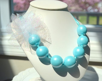 Edible Gumball Necklace with Flower