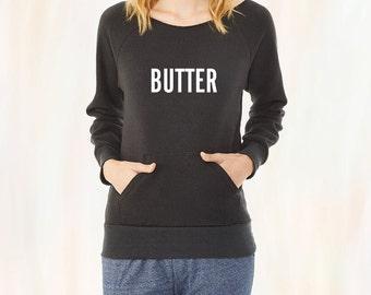 BUTTER Screen-Printed Sweatshirt -- Women's