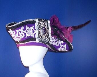 Magnificent Purple Pirate Hat