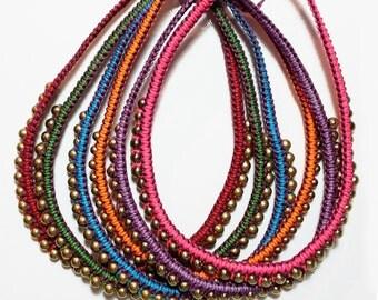 Single Masai necklace