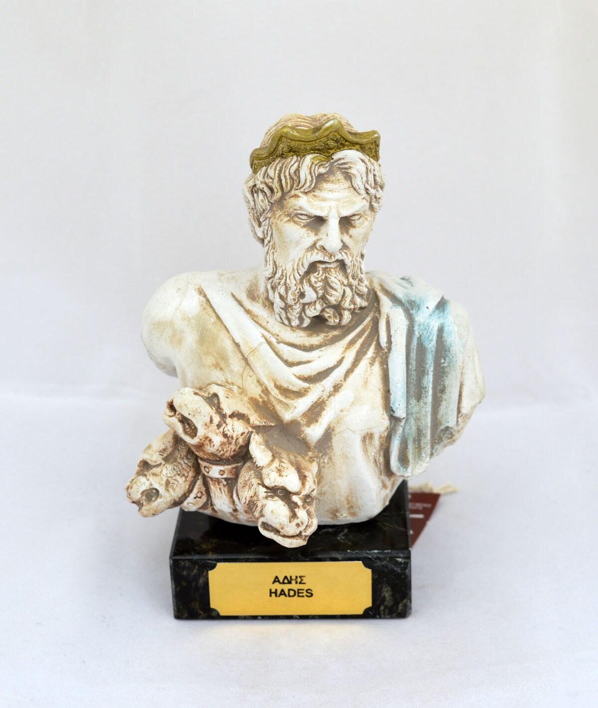 hades ancient greek god king of the underworld sculpture