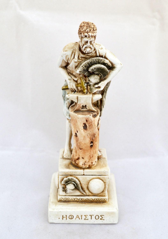 Hephaestus Ancient Greek God of Smithing sculpture statue