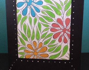 Greeting Card- Flowers