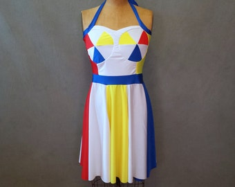 "MADE TO ORDER Katy Perry ""Beach Ball"" Inspired Dress"