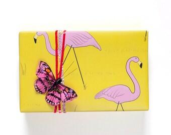 Flamingo Gift Wrap