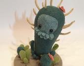 Cactus Beast - Soft Sculpture