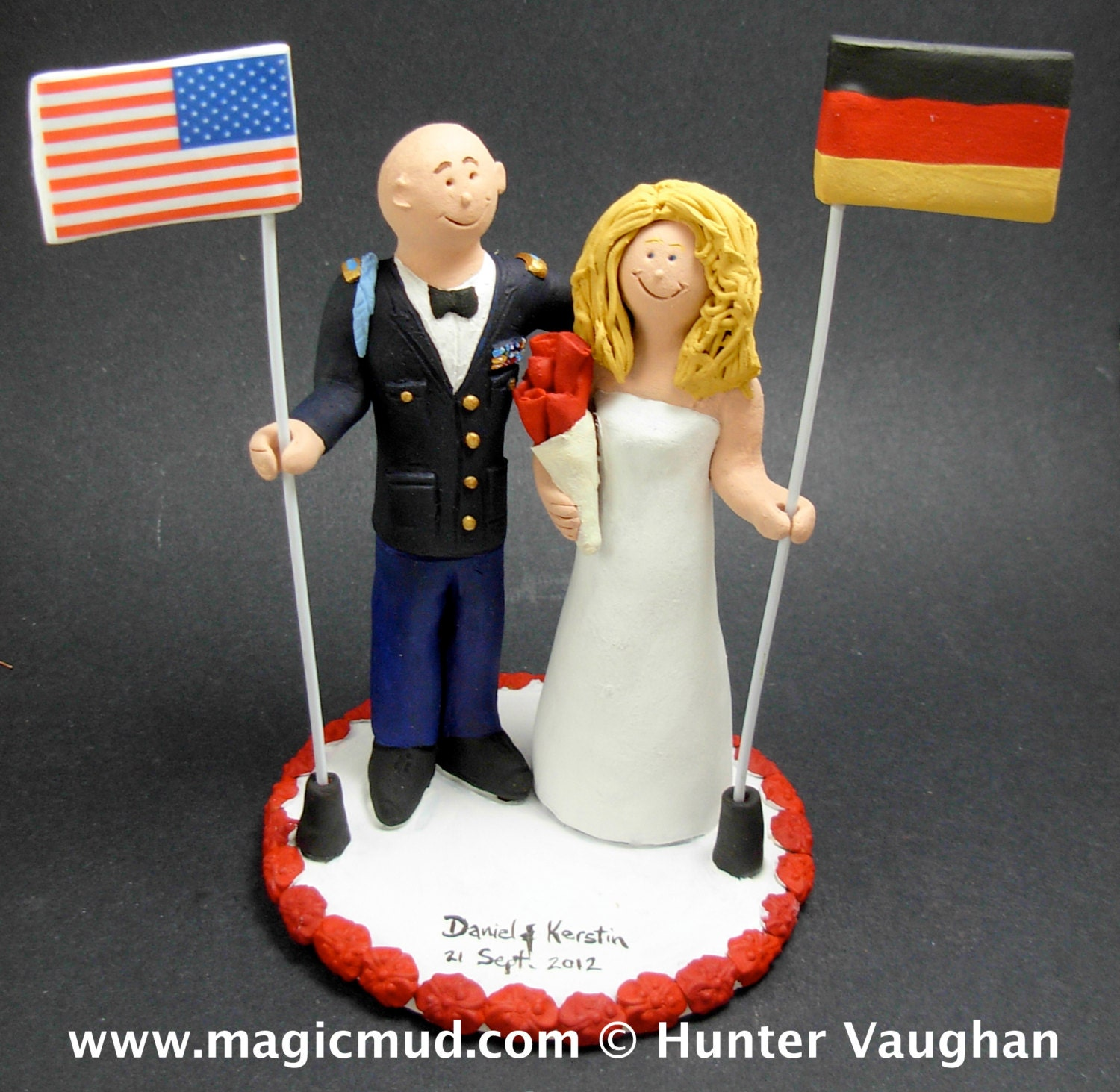 wedding cake toppers army groom army groom in wedding cake topper 26380