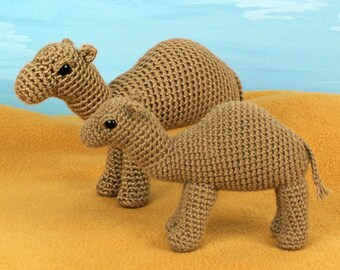 PDF Camel amigurumi CROCHET PATTERN