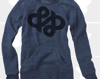 Ampersand Infinity -  Women's Slouchy Sweatshirt