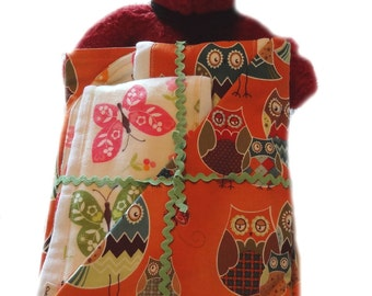 Owl Wonderful Newborn Gift Set - Receiving Blanket/Burp Cloths