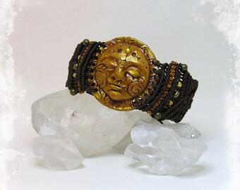 SUN Bracelet macrame
