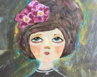 Violet. Original Painting