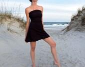 ORGANIC Love Me 2 Times Wanderer Mini Dress (light hemp/organic cotton knit)