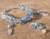 swarovski icing bracelet sterling silver