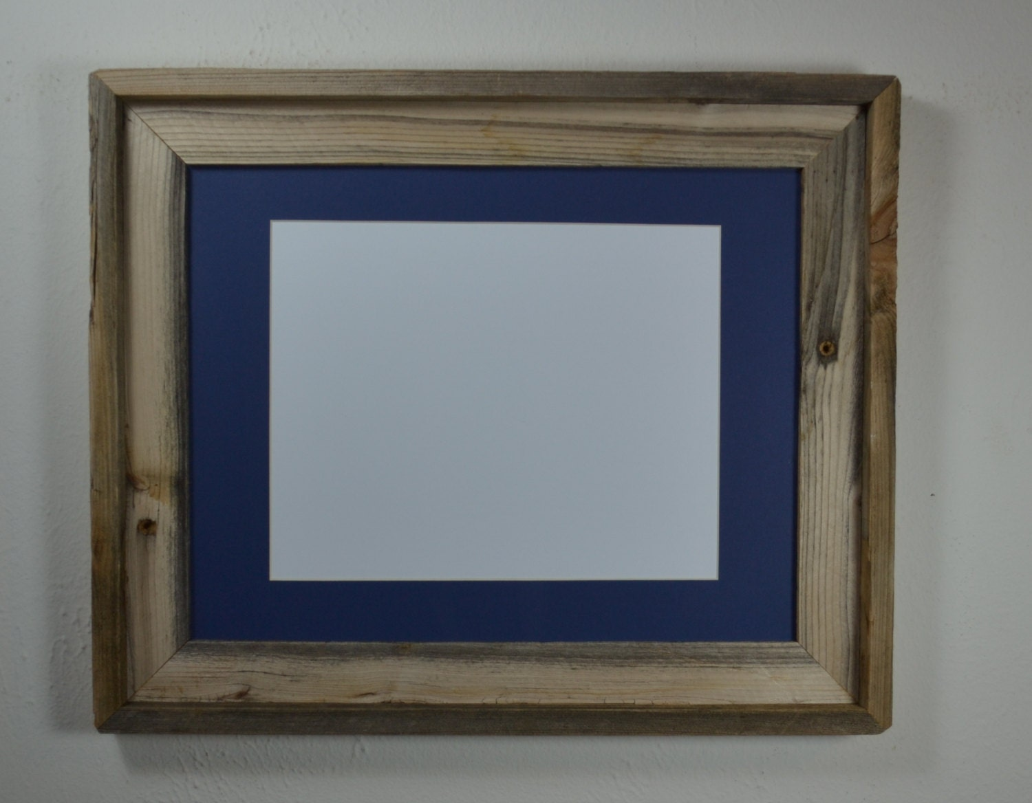 picture frame 11x14 with mat for 8x10 or 9x12 or by barnwood4u. Black Bedroom Furniture Sets. Home Design Ideas