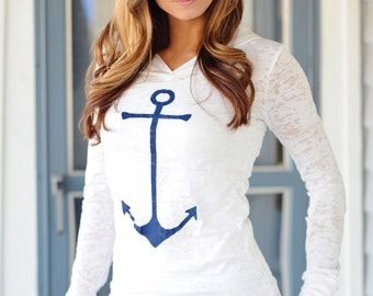 anchor shirt. anchor tee. anchor tshirt. anchor t shirt. boating gift. nautical shirt. plus size clothing. ellembee tee. burnout hoodie. xxl