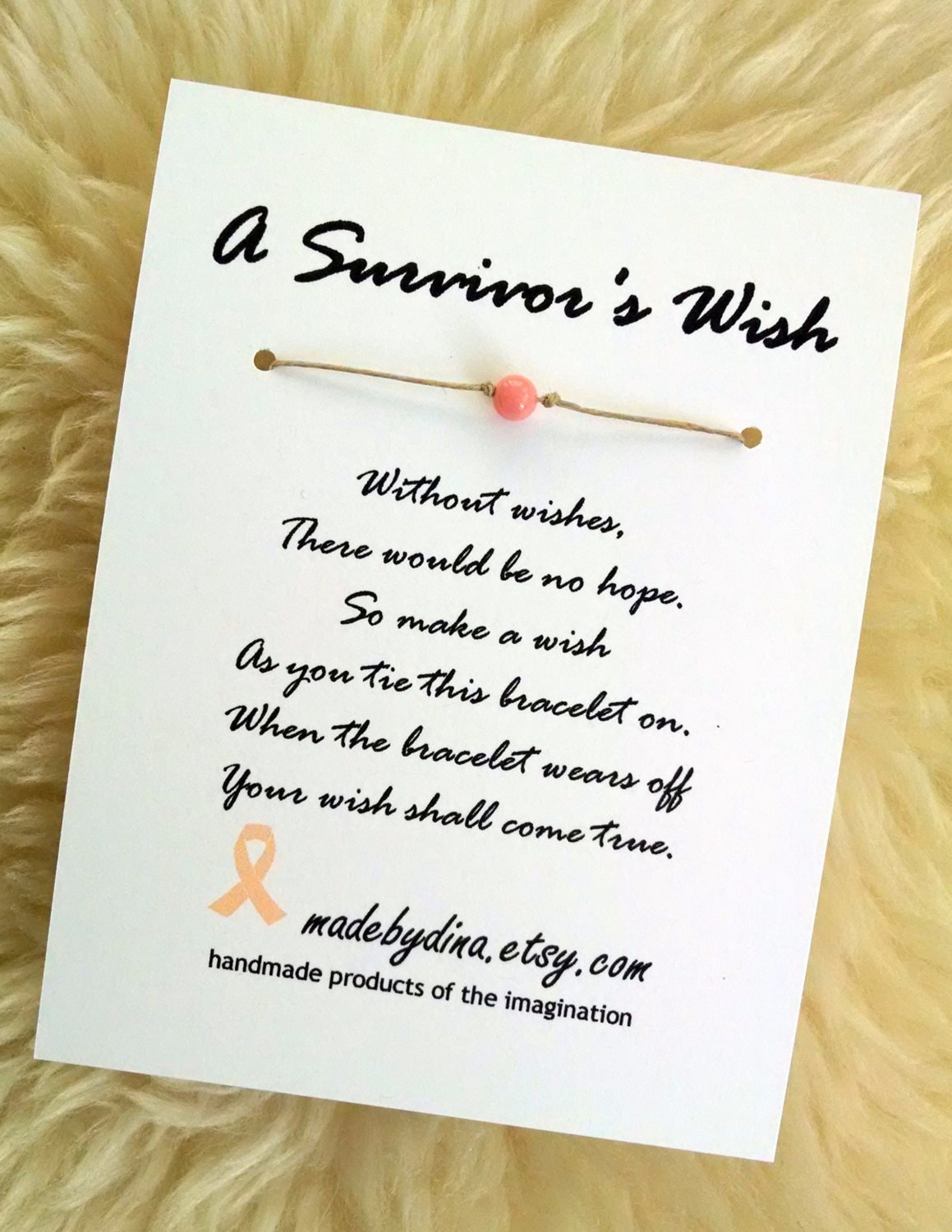 A survivors wish the wish bracelet for uterine and zoom buycottarizona