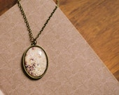 Field Flowers Photo Necklace