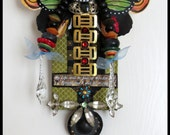 BLESS YOUR HEART Fairy totem doll by Lauretta Lowell