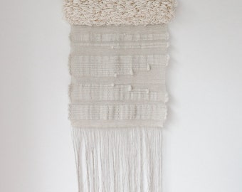 handwoven wall hanging tapestry weaving | no. 051115
