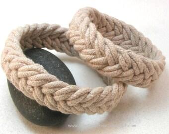 rope bracelet herringbone weave sailor rope bracelet armband rope jewelry turks head knot 3537