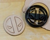 Deadpool Cookie Cutter, Fondant Cutter, 3D Printed to order