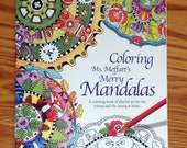Ten playful Mandala outlines for hours of coloring fun. Fun animal facts and tips on choosing colors. For the young and the young at heart.
