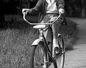 Custom Bike Rider Pet Portrait