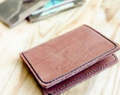 Leather Wallet For Men Compact Bifold and Slim