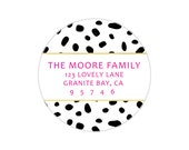 Personalized Return Labels by Pretty Smitten - DALMATION Collection