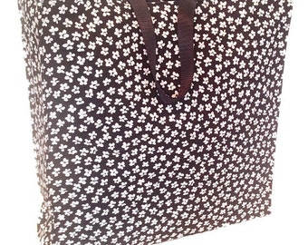Funky Flowers - Structured Tote