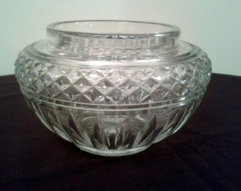 CLEARANCE PRICED - Crystal Glass Bowl or Vase