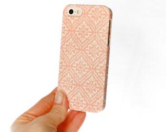 iPhone Case, Boho iPhone 6S Case, Diamond iPhone 5S Case, Pattern Galaxy S7, Boho Chic iPhone 6 Plus Case, Peach iPhone 5C Case