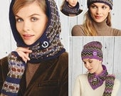 Toasty Accessories to Sew - Simplicity 1216 - New Designer Sewing Pattern